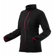 Блуза рабочая флисовая женская черная Woman Line, pазмер 46-48/L Neo