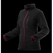 Блуза рабочая флисовая женская черная Woman Line, pазмер 48-50/XL Neo