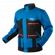 Блуза рабочая HD+ series синяя, pазмер 50/M Neo