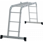 Лестница-трансформер 4х3 алюм Новая Высота NV100
