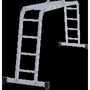 Лестница-трансформер 4х4 алюм Новая Высота NV100
