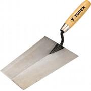 Кельма каменщика 200мм сталь ручка/дерево трапеция Topex