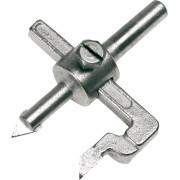 Сверло по стеклу и керамике Ø 20.0-100.0 мм  ц/хв Top tools БАЛЕРИНКА блистер