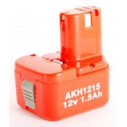 Аккумулятор 12,0V NiCd/1,5 HAMMER Flex AKH1215 для HITACHI, Hammer Flex PREMIUM