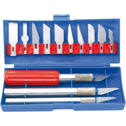 Набор ручных резцов по дереву 16шт. Top tools кейс