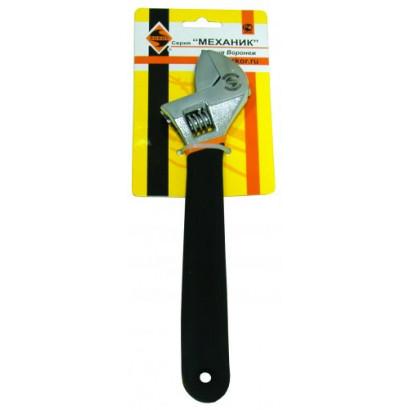 Ключ разводной 200мм/D24мм рукоятка/обливн ЭНКОР блистер
