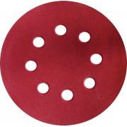 Круг фибровый шлифовальный ф125 к 40 металл/дерево ЭНКОР для шлифмашин липучка (5шт)