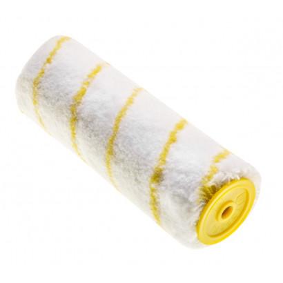 Валик малярный 250/ф48 полиакрил h11, ф8 для водоэмул. красок Topex желтая нить т.з