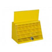 Шкаф для сверл по металлу 29 ячеек (одна дверца) 260х390х420 ЭНКОР