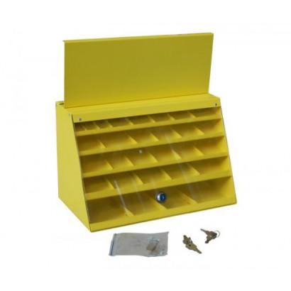 Шкаф для сверл по металлу 29 ячеек (две дверцы) 205х370х235 ЭНКОР
