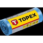 Мешок для строительного мусора  45мкм, 240л, 10шт синие очень прочные Topex
