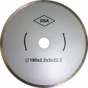 Диск отрезной алмазный сплошной 180х2,2х 5,0х22,2  по керамике ЭНКОР для К-460, К-461 1/50
