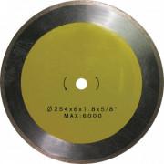 Диск отрезной алмазный сплошной 254х1,8х 5,0х16,0 по керамике ЭНКОР для К-467 1/20