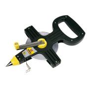 Рулетка геодезическая  50м Top tools стальная в открытом корпусе