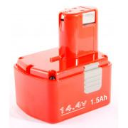 Аккумулятор 14,4V NiCd/1,5 HAMMER Flex AKH1415 для HITACHI