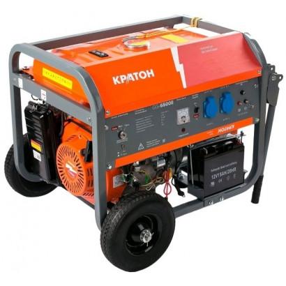 Генератор бензиновый 6,5 кВт Кратон GG-6500EM коробка
