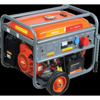 Генератор бензиновый 6,5 кВт Кратон GG-6500-3РEM коробка