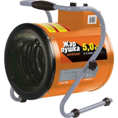 Тепловая пушка (нагреватель) электрическая  5кВт Кратон Е 5-400-380В коробка