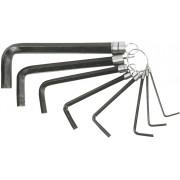 Набор ключей шестигранников  8шт. (2.0-10) Top tools блистер/кольцо