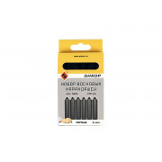 Набор восковых карандашей черный 12 x 120мм 6 шт. ЭНКОР