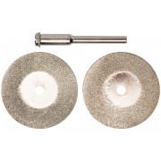 Круги отрезные 30мм с алмазным напылением хв.3мм FIT 2шт.