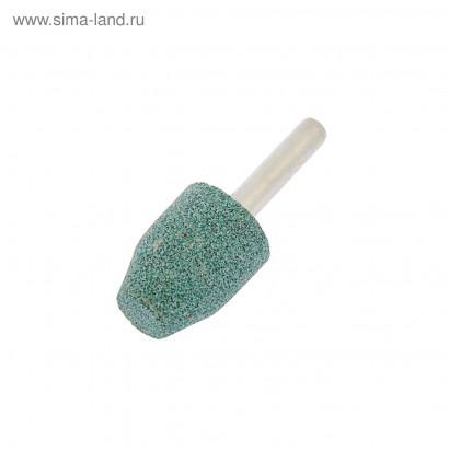 Шарошка цилиндр со скосом 18х27/хв.6мм карбид кремния по камню FIT
