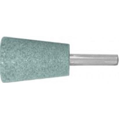 Шарошка конус с закруглением 25х35/хв.6мм карбид кремния по камню FIT