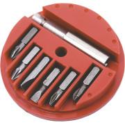 Набор бит-вставок   7 ед. с держателем Top tools блистер