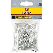 Заклепка алюм. 3,2х  8 (1/ 50шт) Topex