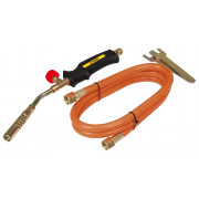 Газовая горелка   2 кВт, 1 насадка, шланг 1,5м Topex
