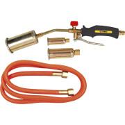 Газовая горелка  19.5 кВт, 3 насадки, шланг 1,5м Topex