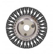 Щетка для УШМ дисковая ф22,2/150 мм VMX ЭНКОР сталь/витая