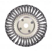 Щетка для УШМ дисковая ф22,2/200 мм VMX ЭНКОР сталь/витая