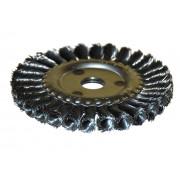 Щетка для УШМ дисковая ф22,2/125 мм ЭНКОР сталь/витая