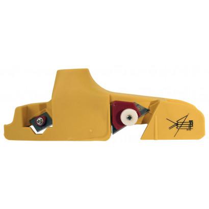 Рубанок  для гипсокартона кромочный 240 х 60 мм пластмассовый 22,5°-45° ЭНКОР
