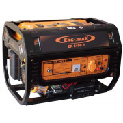 Генератор бензиновый 2,5 кВт Ergomax ER 3400E Сварог коробка