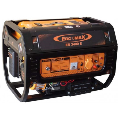 Генератор бензиновый 5,0 кВт Ergomax ER6600 Сварог коробка