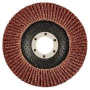 Круг лепестковый торцевой 115х22,2 К 36 GRAPHITE конический