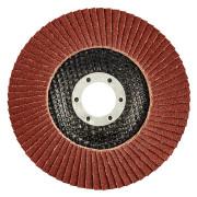 Круг лепестковый торцевой 125х22,2 К120 GRAPHITE конический