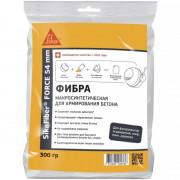 Фибра полипропиленовая для армирования бетона макро-синтетич. 300гр Force-54 SikaFiber (EUR1)