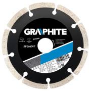 Диск отрезной алмазный сегментный 115х2,1х 8х22,2 по бетону GRAPHITE сухой/рез