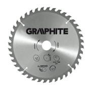 Диск пильный  ф185х30 z48 по дереву GRAPHITE