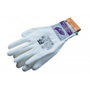 Перчатки нейлоновые белые ЭНКОР Пульс