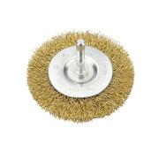 Щетка для дрели дисковая ф100мм VERTO нейлон