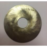 Фреза по металлу дисковая отрезная ф 80х1,2 Р6М5 МИЗ