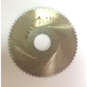 Фреза по металлу дисковая отрезная ф 40х1,2 Р6М5 МИЗ