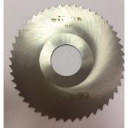 Фреза по металлу дисковая отрезная ф100х2,0 Р6М5 МИЗ