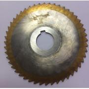 Фреза по металлу дисковая отрезная ф125х3,5 Р6М5 МИЗ