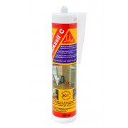 Герметик силиконовый санитарный 300мл КРТ300 прозрачный Sikasil (EUR1)