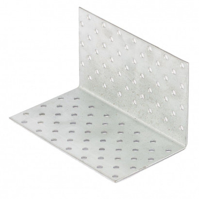 Уголок крепежный 100х100х 60х2,0мм равносторонний KUR-100-60 ПерфКрепеж
